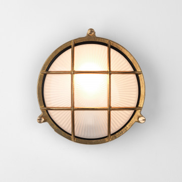 Настенный светильник Astro Thurso 1376001 (7880), IP44, 1xE27x42W, бронза, металл со стеклом