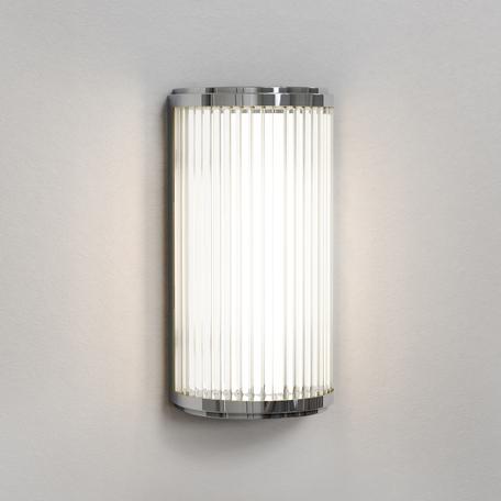 Настенный светодиодный светильник Astro Versailles 1380001 (7837), IP44, LED 4,7W 3000K 370.89lm CRI80, хром, стекло