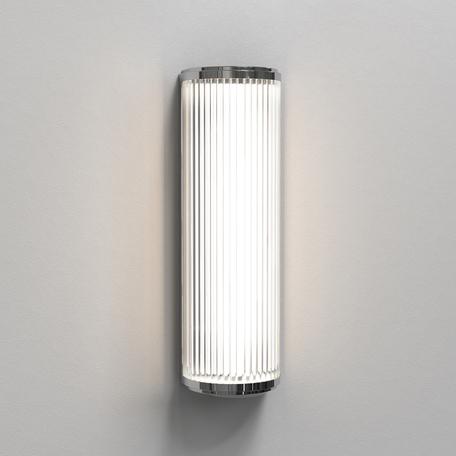 Настенный светодиодный светильник Astro Versailles 1380002 (7838), IP44 3000K (теплый), хром, прозрачный, металл, стекло