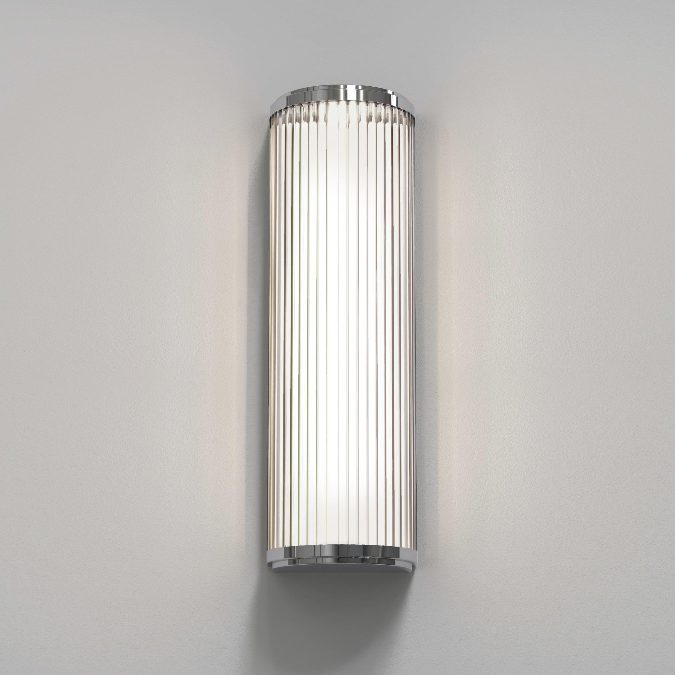 Настенный светодиодный светильник Astro Versailles 1380002 (7838), IP44, LED 7,3W 3000K 739.78lm CRI80, хром, стекло - фото 2