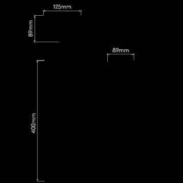 Схема с размерами Astro 1380002