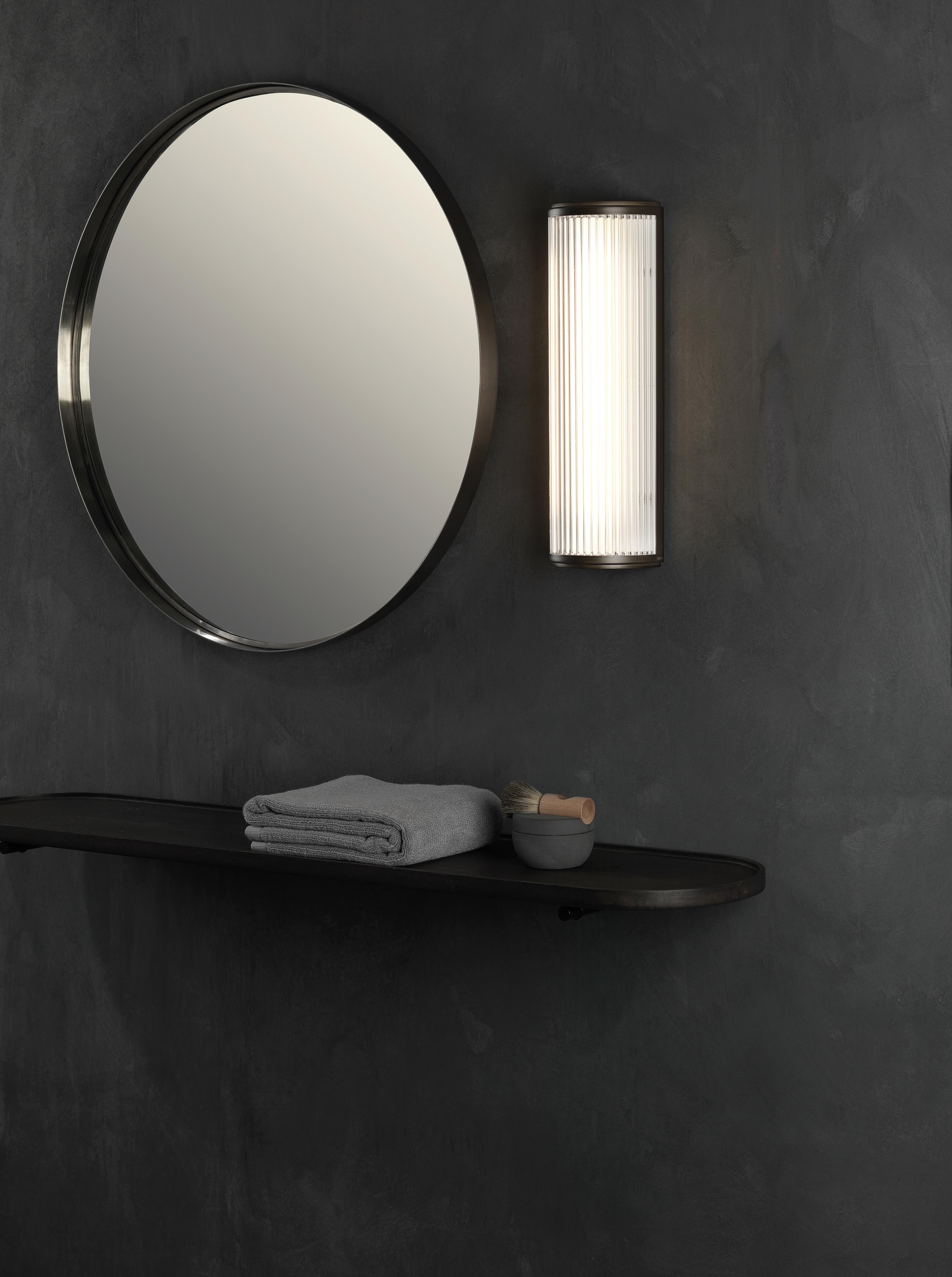 Настенный светодиодный светильник Astro Versailles 1380002 (7838), IP44, LED 7,3W 3000K 739.78lm CRI80, хром, стекло - фото 4