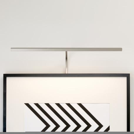 Настенный светодиодный светильник для подсветки картин Astro Mondrian 1374006 (7889), LED 8,4W 2700K 219.29lm CRI80, никель, металл