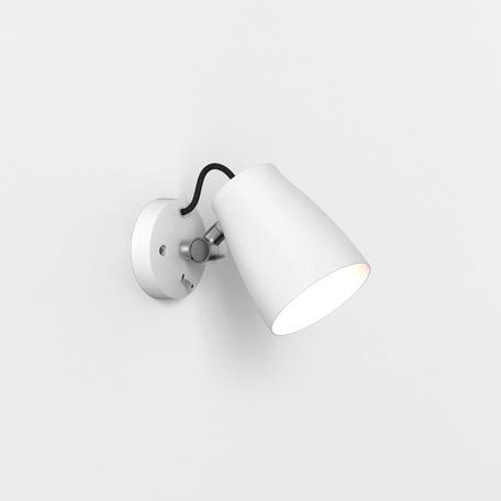 Настенный светильник с регулировкой направления света Astro Atelier 1224012 (7501), 1xE27x28W, белый, металл