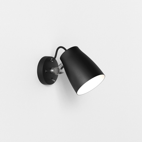 Настенный светильник с регулировкой направления света Astro Atelier 1224013 (7502), 1xE27x28W, черный, металл