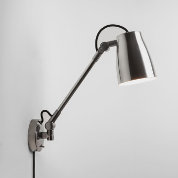 Настенный светильник с регулировкой направления света Astro Atelier 1224014 (7503), 1xE27x28W, алюминий, металл
