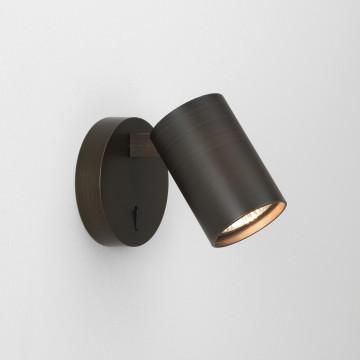 Настенный светильник с регулировкой направления света Astro Ascoli 1286009 (7939), 1xGU10x6W, бронза, металл