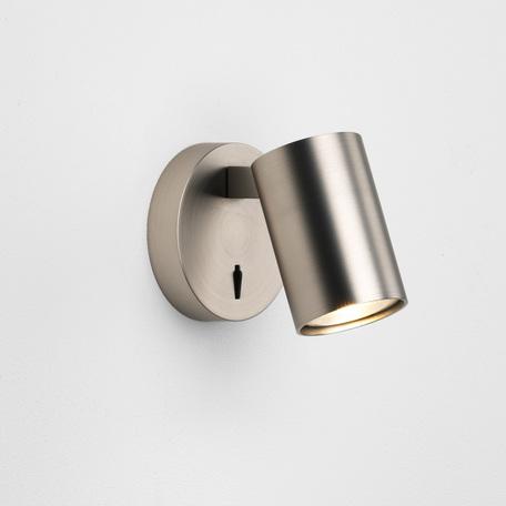 Настенный светильник с регулировкой направления света Astro Ascoli 1286011 (7949), 1xGU10x6W, никель, металл