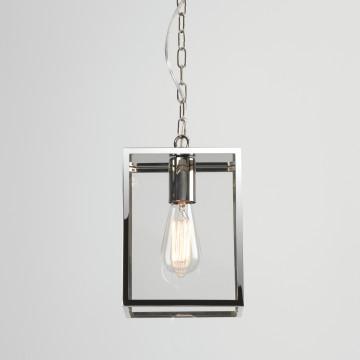 Подвесной светильник Astro Homefield 1095019 (7908), IP23, 1xE27x60W, хром, прозрачный, металл, стекло