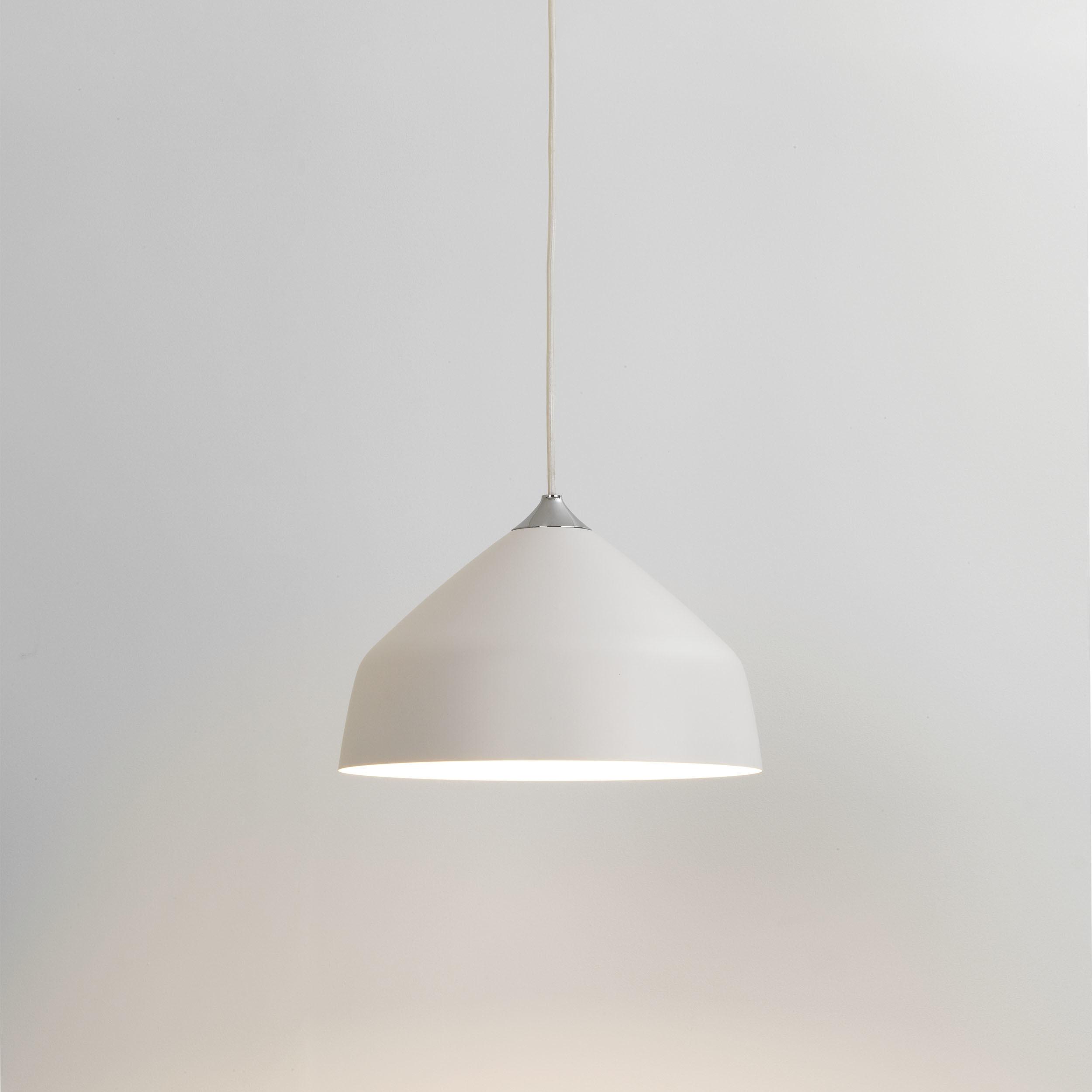 Подвесной светильник Astro Ginestra 1361011 (7810), 1xE27x42W, белый, металл - фото 1