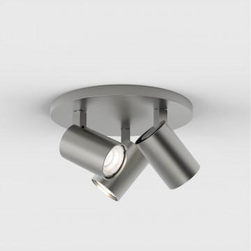 Потолочная люстра с регулировкой направления света Astro Ascoli 1286012 (7950), 3xGU10x50W, никель, металл