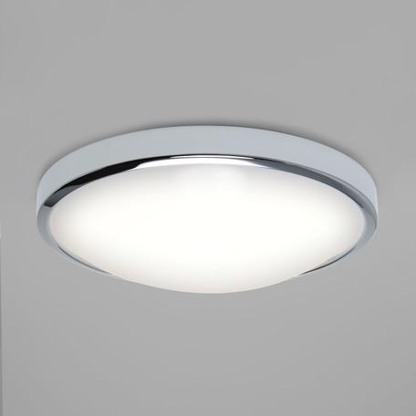 Потолочный светодиодный светильник Astro Osaka LED 1061009 (7831), IP44, LED 16W 2700K 1048lm CRI>80, белый, хром, металл, пластик