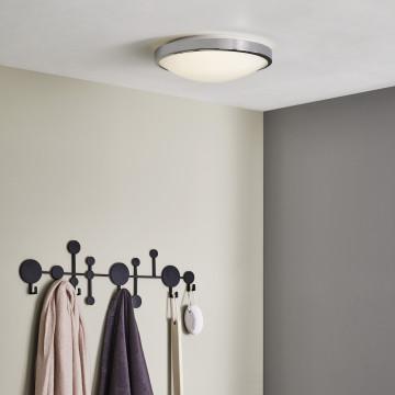 Потолочный светодиодный светильник Astro Osaka LED 1061009 (7831), IP44, LED 16W 2700K 1048lm CRI>80, хром, металл с пластиком, пластик - миниатюра 4
