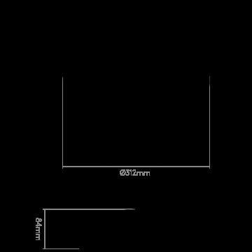 Схема с размерами Astro 1061009