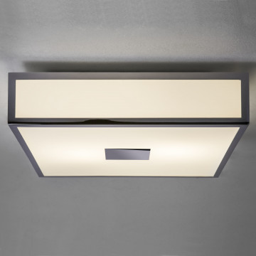Потолочный светодиодный светильник Astro Mashiko LED 1121040 (7942), IP44, LED 15,9W 2700K 981lm CRI>80, хром, белый, металл, стекло - миниатюра 1