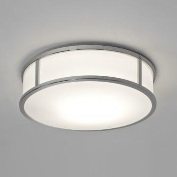 Потолочный светодиодный светильник Astro Mashiko 1121041 (7947), IP44, LED 15,8W 2700K 996lm CRI>80, хром, стекло