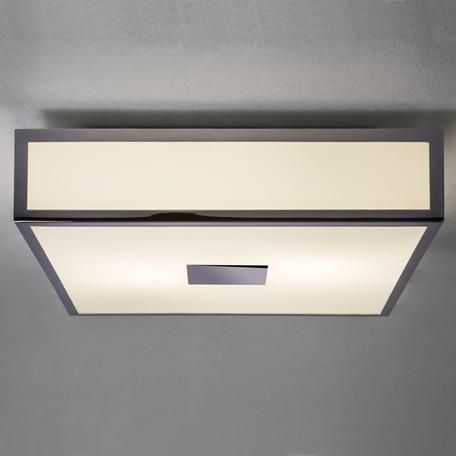 Потолочный светодиодный светильник Astro Mashiko LED 1121081 (7942), IP44, LED 15,9W 2700K 981lm CRI>80, хром, стекло - миниатюра 1