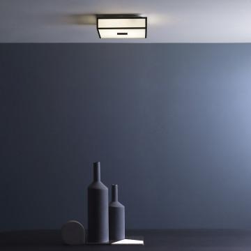 Потолочный светодиодный светильник Astro Mashiko LED 1121081 (7942), IP44, LED 15,9W 2700K 981lm CRI>80, хром, стекло - миниатюра 2