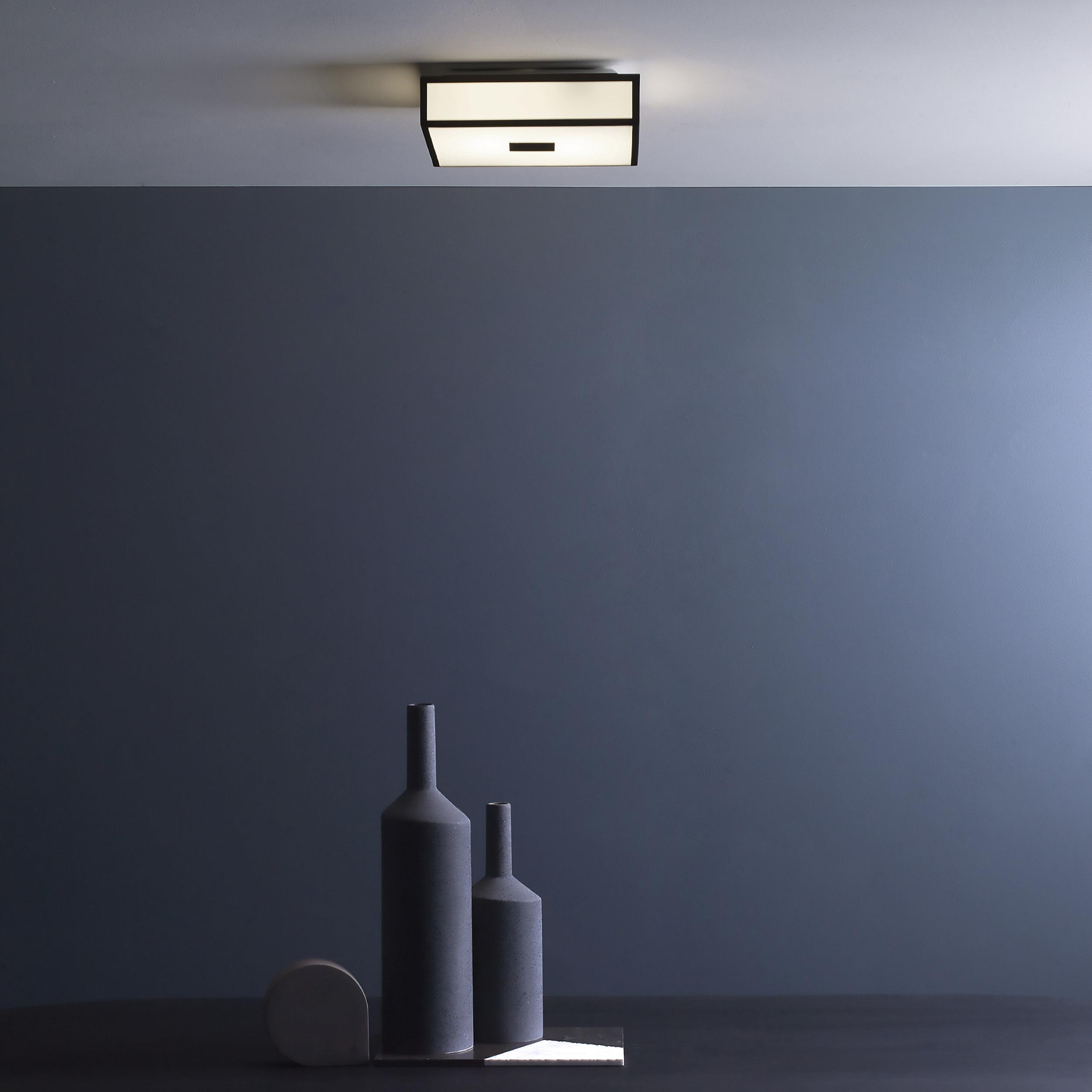 Потолочный светодиодный светильник Astro Mashiko LED 1121081 (7942), IP44, LED 15,9W 2700K 981lm CRI>80, хром, стекло - фото 2