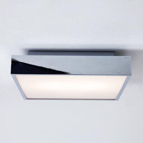 Потолочный светодиодный светильник Astro Taketa 1169023 (7932), IP44, LED 16,3W 2700K 834lm CRI>80, хром, металл, металл с пластиком, пластик