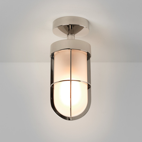 Потолочный светильник Astro Cabin 1368010 (7852), IP44, 1xE27x60W, хром, металл, металл со стеклом