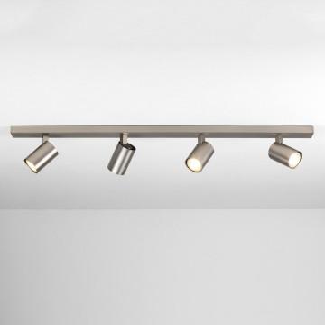 Потолочный светильник с регулировкой направления света Astro Ascoli 1286014 (7954), 4xGU10x50W, никель, металл