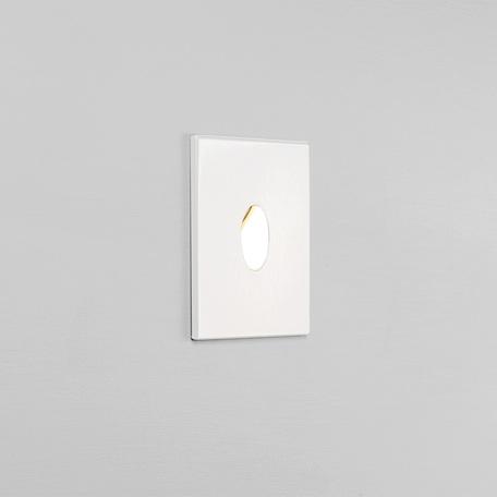 Встраиваемый настенный светодиодный светильник Astro Tango LED 1175006 (7522), IP65, LED 1W 2700K 29.2lm CRI80, белый, металл, стекло