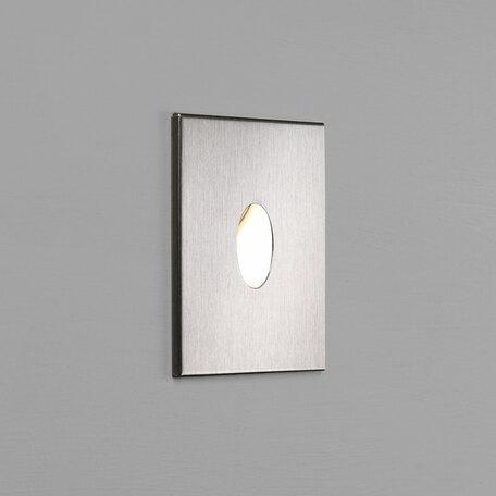 Встраиваемый настенный светодиодный светильник Astro Tango LED 1175007 (7523), IP65, LED 1W 2700K 29.2lm CRI80, сталь, металл, стекло
