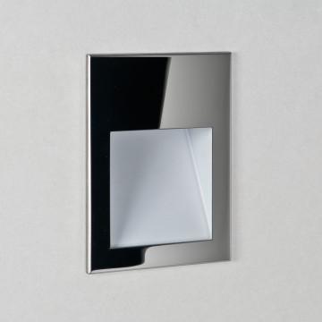 Встраиваемый настенный светодиодный светильник Astro Borgo 1212025 (7531), LED 2W 2700K 68lm CRI80, хром, металл