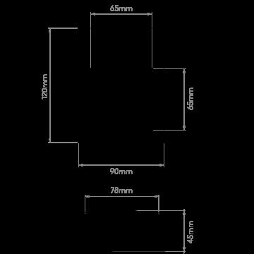 Схема с размерами Astro 1212026