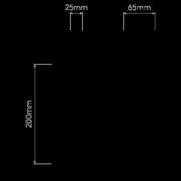 Схема с размерами Astro 1212038