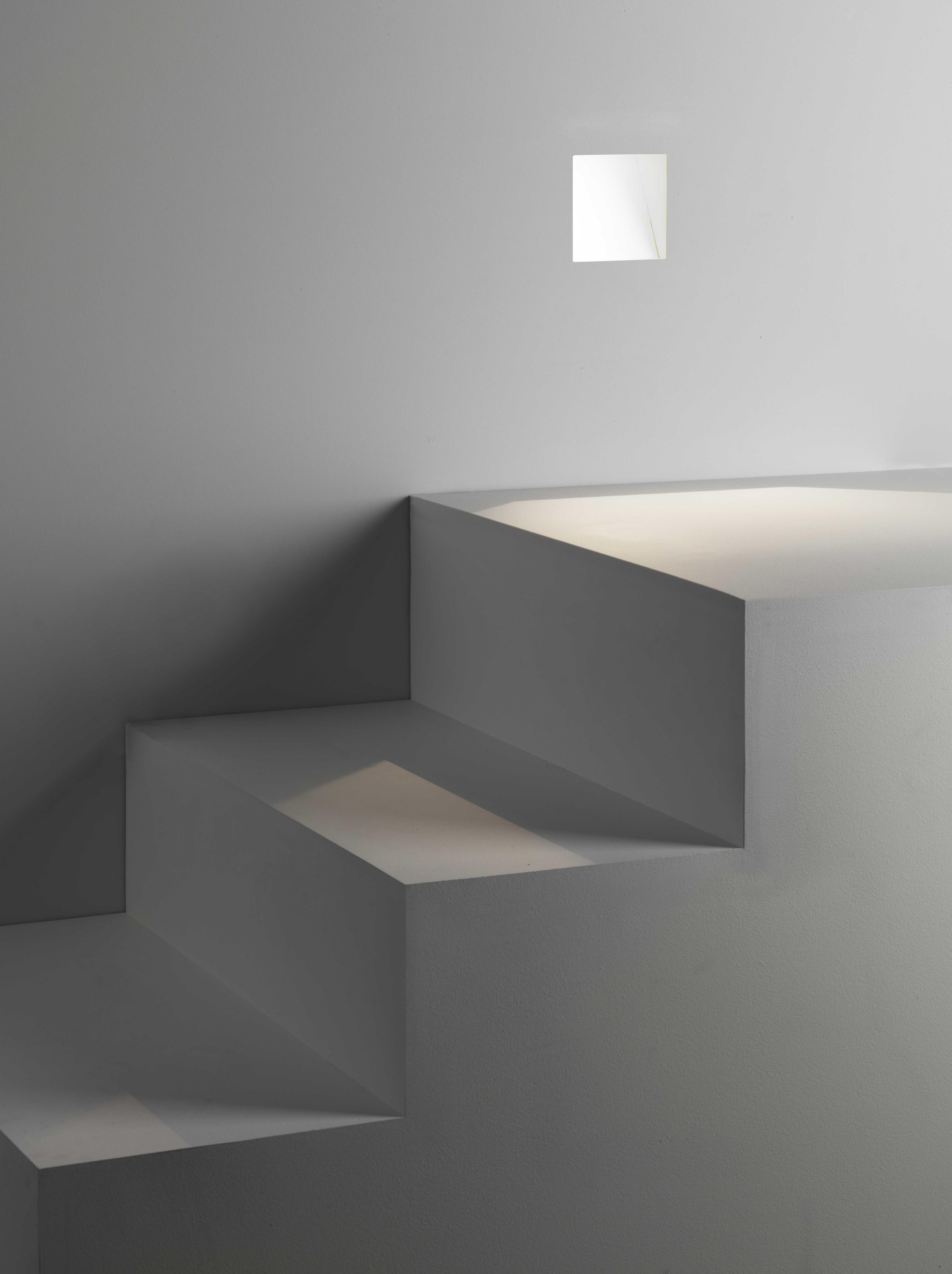 Встраиваемый настенный светодиодный светильник Astro Borgo Trimless 1212041 (7841), 3000K (теплый), белый, металл - фото 2