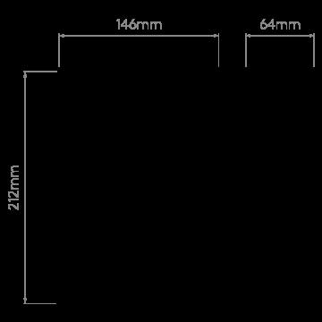 Схема с размерами Astro 1212042