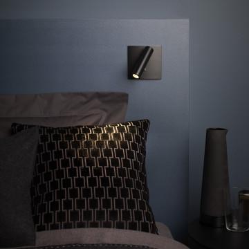 Встраиваемый настенный светодиодный светильник с регулировкой направления света Astro Enna 1058024 (7496), LED 4,47W 2700K 111.44lm CRI80, черный, металл - миниатюра 3