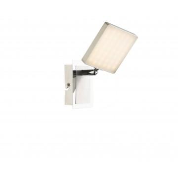 Настенный светодиодный светильник с регулировкой направления света Globo Brava 56126-1, LED 6W, 3000K (теплый), металл, пластик