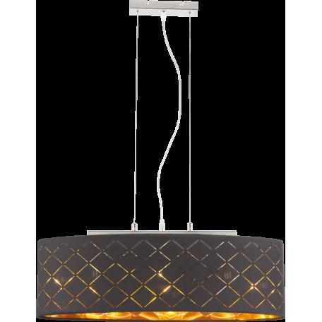 Подвесной светильник Globo Clarke 15229H2, 3xE27x60W, металл, текстиль