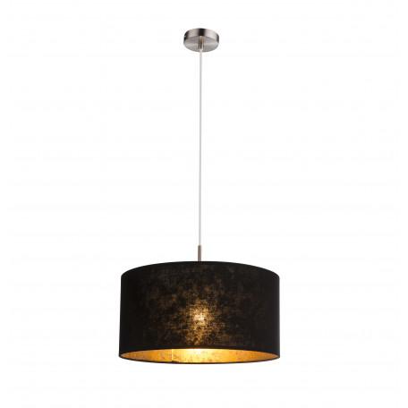 Подвесной светильник Globo Amy 15287H, 1xE27x60W, металл, текстиль