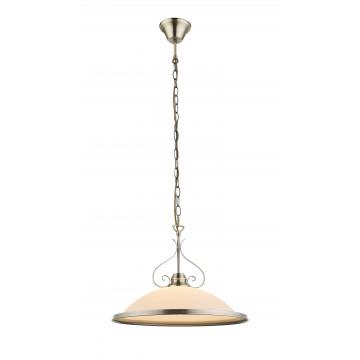 Подвесной светильник Globo Sassari 6906, 1xE27x60W, металл, стекло