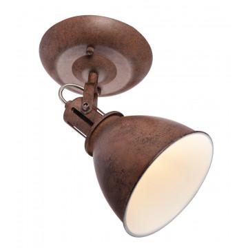 Потолочный светильник с регулировкой направления света Globo Giorgio 54647-1, 1xE14x40W, металл