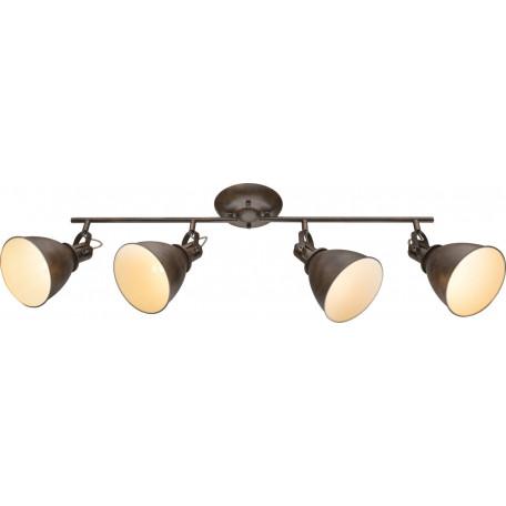 Потолочный светильник с регулировкой направления света Globo Giorgio 54647-4, 4xE14x40W, металл