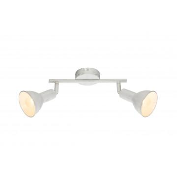 Потолочный светильник с регулировкой направления света Globo Caldera 54648-2, 2xE14x40W, металл