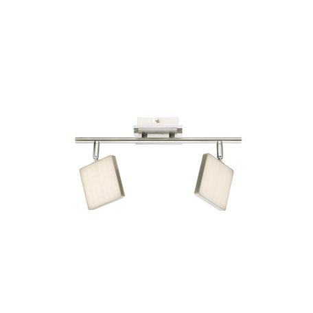 Потолочный светодиодный светильник с регулировкой направления света Globo Brava 56126-2, LED 12W 3000K 800lm, металл, пластик
