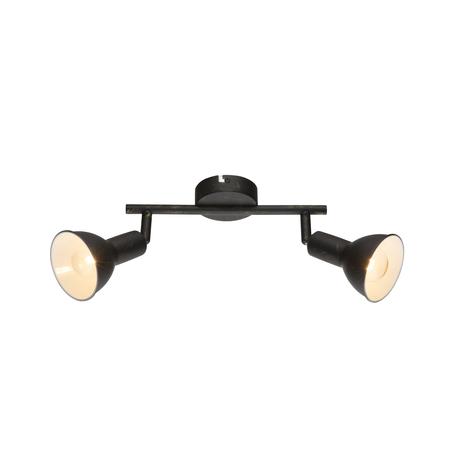 Потолочный светильник с регулировкой направления света Globo Namus 54649-2, 2xE14x40W, металл
