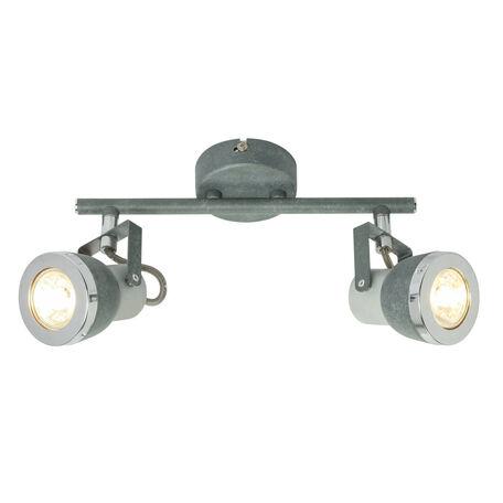 Потолочный светильник с регулировкой направления света Globo Sabinyo 57000-2, 2xGU10x50W, металл