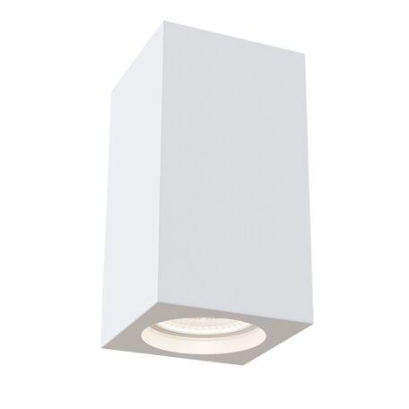 Потолочный светильник Maytoni Technical Conik Gyps C005CW-01W, 1xGU10x30W, белый, под покраску, гипс
