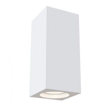 Потолочный светильник Maytoni Technical Conik Gyps C006CW-01W, 1xGU10x30W, белый, под покраску, гипс