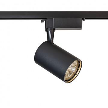 Светильник для шинной системы Maytoni Track TR003-1-12W3K-B 3000K (теплый), черный, металл