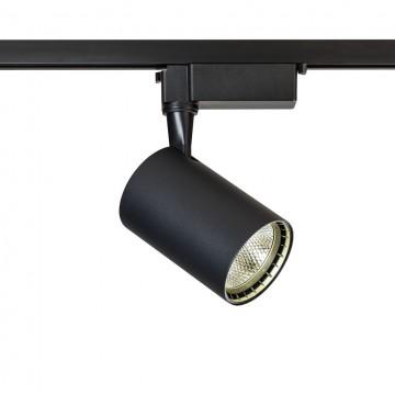 Светодиодный светильник для шинной системы Maytoni Track TR003-1-12W4K-B, LED 12W 4000K 800lm CRI80, черный, металл