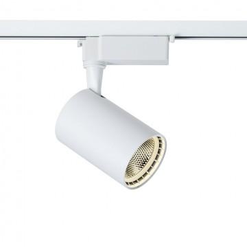 Светодиодный светильник для шинной системы Maytoni Track TR003-1-12W4K-W, LED 12W 4000K 800lm CRI80, белый, металл