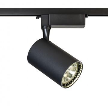 Светодиодный светильник для шинной системы Maytoni Track TR003-1-17W4K-B, LED 17W, 4000K (дневной), черный, металл